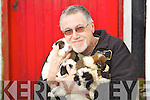 Neill Farwell Inspector from the Kerry society of prevention of cruelty to animals with four puppies that were rescued near Listowel.