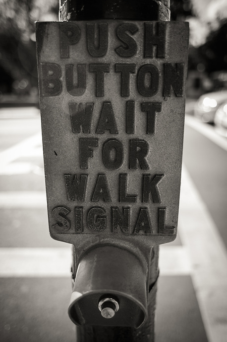 Wait for walk signal