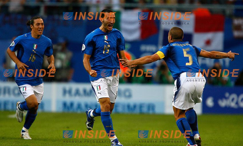 Hamburg 30/6/2006 World Cup 2006 Quarti di finale Italia Ucraina.Photo Andrea Staccioli Insidefoto