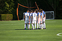 Portland, OR - Wednesday August 09, 2017: Team Huddle during friendly match between the USMNT U17's and Chile u17's at Nike World Headquarters in Portland, OR.