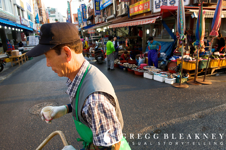 Jagalchi Market - Busan - South Korea