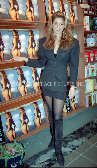 WWW.ACEPIXS.COM *** NO U.K. NEWSPAPERS SALES ***....NEW YORK, CIRCA 1995: CINDY CRAWFORD....Please byline: R. BOCKLET-ACE PICTURES.   ..  ***  ..Ace Pictures, Inc:  ..contact: Alecsey Boldeskul (646) 267-6913 ..Philip Vaughan (646) 769-0430..e-mail: info@acepixs.com