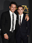 BEVERLY HILLS, CA - NOVEMBER 05: Actor/director James Franco; Dave Franco attends the 21st Annual Hollywood Film Awards at The Beverly Hilton Hotel on November 5, 2017 in Beverly Hills, California.