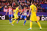 "Atletico de Madrid's player Gabriel ""Gabi"" Fernández during a match of UEFA Champions League at Vicente Calderon Stadium in Madrid. November 01, Spain. 2016. (ALTERPHOTOS/BorjaB.Hojas)"