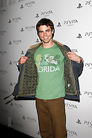 LOS ANGELES, CA - FEB 15: Reid Ewing at the Sony PlayStationAE Unveils PS VITA Portable Entertainment System at Siren Studios on February 15, 2012 in Los Angeles, California