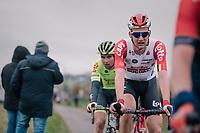 Tim Wellens (BEL/Lotto-Soudal)<br /> <br /> 74th Omloop Het Nieuwsblad 2019 <br /> Gent to Ninove (BEL): 200km<br /> <br /> ©kramon