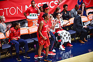 Washington, DC - September 2 2018: Washington Mystics bench is fired up during semifinals game against Atlanta Dream. Mystics even the series and force a deciding game 5 in Atlanta with a 97-76 win at the Charles Smith Center at George Washington University in Washington, DC. (Photo by Phil Peters/Media Images International)