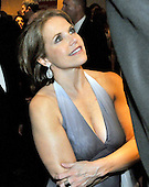 Washington,DC - April 26, 2008 -- Katie Couric looks up at former NBA star Tom McMillen as they converse as they wait to go into the hall at the Washington Hilton Hotel in Washington, D.C. on Saturday, April 26, 2008 for the annual White House Correspondents Association (WHCA) Dinner..Credit: Ron Sachs / CNP.(RESTRICTION: NO New York or New Jersey Newspapers or newspapers within a 75 mile radius of New York City)
