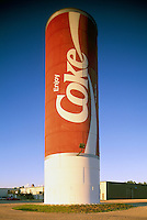 World's Largest Coke Can, Portage la Prairie, Manitoba, Canada - Tourist Attraction