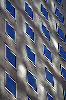 Reflected light on office building, New York City