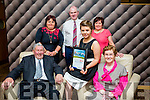 At the Lee Strand Kerry Garda Youth Achievement Awards 2016 in Ballyroe Heights on Friday were, from left. Michael O'Sullivan, Katie O'Neill, Kilcummin, Merit Award Winner, Kathleen O'Sullivan, Sheila O'Neill, Diarmuid O'Neill and Breda O'Donoghue