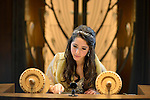 Kol Ami Bat Mitzvah.Emma on the beema with the torah and her special yad.