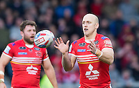 Picture by Allan McKenzie/SWpix.com - 04/03/2017 - Rugby League - Betfred Super League - Salford Red Devils v Warrington Wolves - AJ Bell Stadium, Salford, England - Michael Dobson.