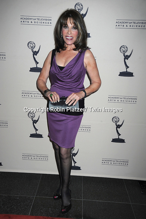 Kate Linder attending the Television Academy's Daytime Programming Peer Group presents a cocktail reception in honor of the 2011 Daytime Emmy Awards Nominees on June 16, 2011 .at The SLS Hotel at Beverly Hills in California.