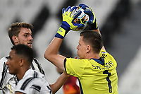 Wojciech Szscesny of Juventus during the Serie A football match between Juventus FC and AS Roma at Juventus stadium in Turin (Italy), August 1st, 2020. Play resumes behind closed doors following the outbreak of the coronavirus disease. Photo Andrea Staccioli / Insidefoto