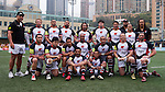HSBC Penguins vs China Agricultural University during Day 1 of the GFI HKFC Tens 2012 at the Hong Kong Football Club on March 21, 2012. Photo by Mike Pickles / The Power of Sport Images for HKFC
