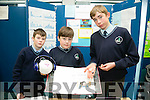 Sean Farndon, Aaron Duggan and Sean Myers from Colaiste Bhreanainn Killarney with their project the Worlds best Headphones  at SciFest 2016 on Thursday at ITT North Campus, 8th Science and Technology competition for 2nd level schools
