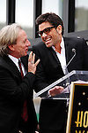 LOS ANGELES - FEB 6: Dewey Bunnell; Gerry Beckley; John Stamos at a ceremony where their rock band 'America' in honored with a star on the Hollywood Walk of Fame in Los Angeles, California