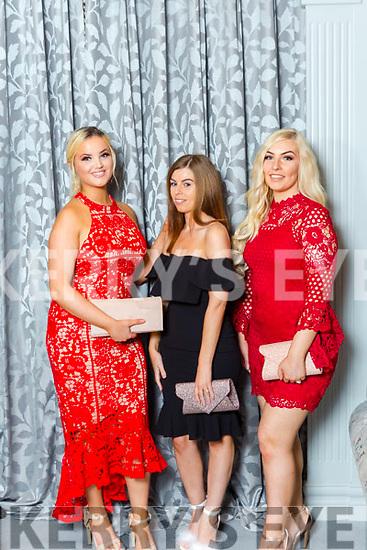 Limerick Friends Sinead Keane, Emily Lawless and Rachel Evans