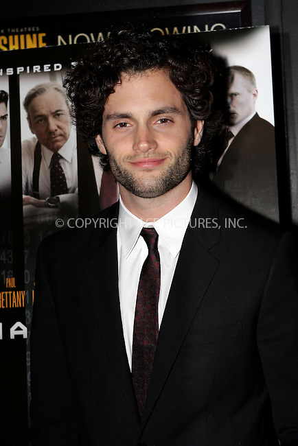WWW.ACEPIXS.COM . . . . .  ....October 17 2011, New York City....Penn Badgley arriving at the 'Margin Call' premiere at the Landmark Sunshine Cinema on October 17, 2011 in New York City. ....Please byline: NANCY RIVERA- ACEPIXS.COM.... *** ***..Ace Pictures, Inc:  ..Tel: 646 769 0430..e-mail: info@acepixs.com..web: http://www.acepixs.com