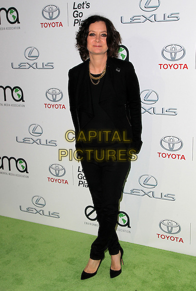 18 October 2014 - Burbank, California - Sara Gilbert. 24th Annual Environmental Media Awards Presented By Toyota And Lexus Held at The Warner Brothers Studios.   <br /> CAP/ADM/FS<br /> &copy;Faye Sadou/AdMedia/Capital Pictures