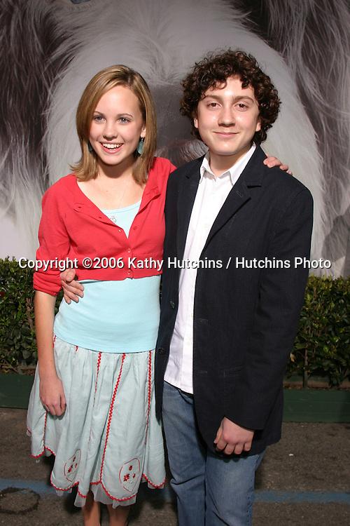 Megan Martin.Daryl Sabara.The Shaggy Dog Premiere.El Capitan Theater.Los Angeles, CA.March 7, 2006.©2006 Kathy Hutchins / Hutchins Photo....