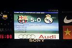 FC Barcelona vs R. Madrid: 5-0 (League BBVA - Season 13)