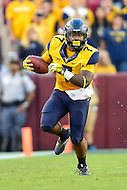 Landover, MD - SEPT 24, 2016: West Virginia Mountaineers running back Rushel Shell (7) in action during their match up against BYU at FedEx Field in Landover, MD. (Photo by Phil Peters/Media Images International)