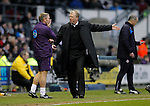 Dejection for Paul Simpson and Steve McClaren  of Derby following REading's second goal - Football - FA Cup 5th round - Derby County vs Reading - IPro Stadium Derby - Season 2014/15 - 14th February 2015 - Photo Malcolm Couzens/Sportimage