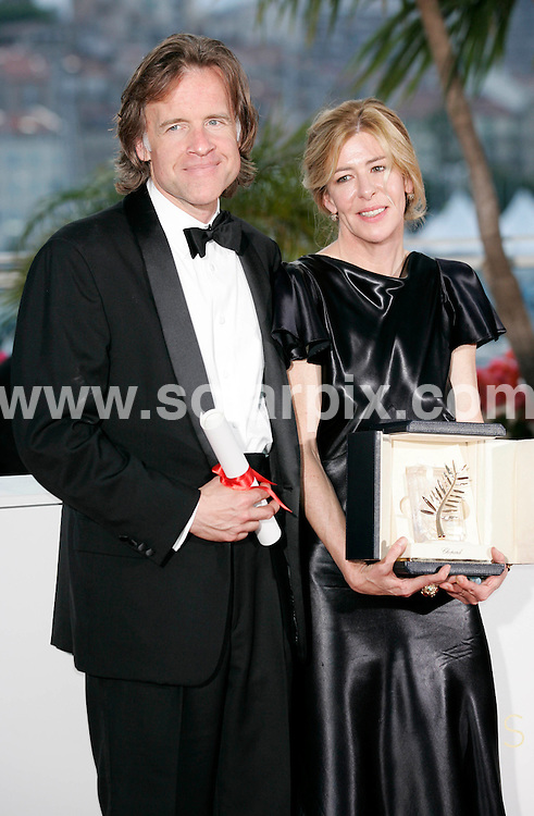 **ALL ROUND PICTURES FROM SOLARPIX.COM**                                             **UK AND SPAIN SYNDICATION RIGHTS ONLY**                                                                                  Caption: Golden Globe awards winner´s photocall at the  64th Cannes Film Festival in France.                                                                              This pic: Bill Pohlad & Dede Gardner                                                                                             JOB REF:13418        CPR/Heinz       DATE:23.05.2011                                                          **MUST CREDIT SOLARPIX.COM OR DOUBLE FEE WILL BE CHARGED**                                                                      **MUST AGREE FEE BEFORE ONLINE USAGE**                               **CALL US ON: +34 952 811 768 or LOW RATE FROM UK 0844 617 7637**