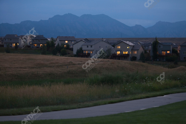 The Rock Creek development. Broomfield, Colorado, July 28, 2007.