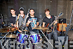 ..BATTLE: Syclla from Tralee who entertained Tralee people and visitor in Denny Street in the Battle of the Bands on Sunday l-r: Dusko Kovac, jack Regan, Sohaib Syed, and Hassan Ali.