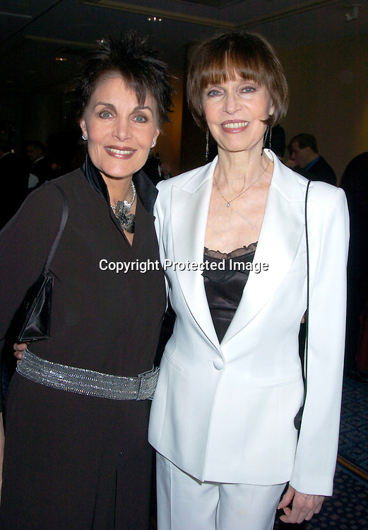 Linda Dano and Barbara Feldon..at HeartShare 's Annual Spring Gala on March 24, 2004 at the Marriott Marquis in New York City...Photo by Robin Platzer, Twin Images