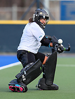 Sally Rutherford. Blacksticks Women's training game v Chile ahead of the 2019 FIH International Pro League Tournament, Grammar Hockey Turf, Auckland, New Zealand. Monday 17  December 2018. Photo: Simon Watts/Hockey NZ