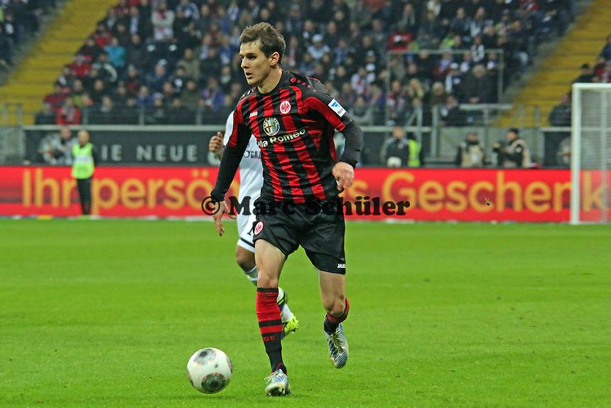 Johannes Flum (Eintracht) - Eintracht Frankfurt vs. FC Schalke 04, Commerzbank Arena