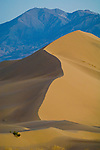 Ibex Dunes and the Avawatz Mountains, southern corner of Death Valley National Park, Calif.