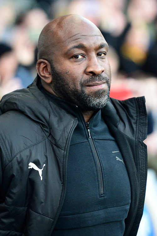 West Bromwich Albion manager Darren Moore <br /> <br /> Photographer Richard Martin-Roberts/CameraSport<br /> <br /> The EFL Sky Bet Championship - Blackburn Rovers v West Bromwich Albion - Tuesday 1st January 2019 - Ewood Park - Blackburn<br /> <br /> World Copyright © 2019 CameraSport. All rights reserved. 43 Linden Ave. Countesthorpe. Leicester. England. LE8 5PG - Tel: +44 (0) 116 277 4147 - admin@camerasport.com - www.camerasport.com