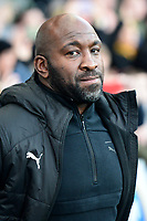 West Bromwich Albion manager Darren Moore <br /> <br /> Photographer Richard Martin-Roberts/CameraSport<br /> <br /> The EFL Sky Bet Championship - Blackburn Rovers v West Bromwich Albion - Tuesday 1st January 2019 - Ewood Park - Blackburn<br /> <br /> World Copyright &not;&copy; 2019 CameraSport. All rights reserved. 43 Linden Ave. Countesthorpe. Leicester. England. LE8 5PG - Tel: +44 (0) 116 277 4147 - admin@camerasport.com - www.camerasport.com