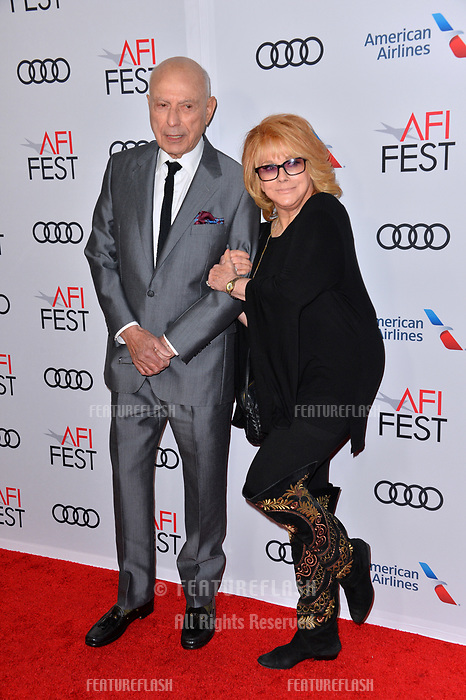 LOS ANGELES, CA. November 10, 2018: Alan Arkin &amp; Ann-Margret at the AFI Fest 2018 world premiere of &quot;The Kominsky Method&quot; at the TCL Chinese Theatre.<br /> Picture: Paul Smith/Featureflash