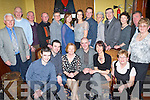 RUBY ANNIVERSARY: Angela and Donal O'Mahony, Connolly Park, Tralee (seated centre), celebrated their 40th Wedding Anniversary with family and friends in the Grand Hotel on Saturday evening. Front l-r: Donie O'Mahony, Thomas O'Mahony, Angela and Donal O'Mahony, Kerry Griffin and Helen Dennehy. Standing l-r: Sean Heaslip, Simon Hadnett, Paddy O'Mahony, Peter Shannahan, Mary Shannahan, Ciara Kane, Susan O'Mahony, John Griffin, Joan O'Mahony, John O'Mahony, Connie O'Mahony, Patrick Dennehy and  Jean Heaslip.   Copyright Kerry's Eye 2008