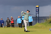 Brian Harmon (USA) during 1st round of the 148th Open Championship, Royal Portrush golf club, Portrush, Antrim, Northern Ireland. 18/07/2019.<br /> Picture Thos Caffrey / Golffile.ie<br /> <br /> All photo usage must carry mandatory copyright credit (© Golffile | Thos Caffrey)