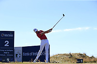 Jacques Kruyswijk (RSA) tees off the 2nd tee during Friday's Round 2 of the 2018 Dubai Duty Free Irish Open, held at Ballyliffin Golf Club, Ireland. 6th July 2018.<br /> Picture: Eoin Clarke | Golffile<br /> <br /> <br /> All photos usage must carry mandatory copyright credit (&copy; Golffile | Eoin Clarke)