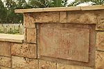 Israel, Negev, the British War Cemetery in Be'er Sheva