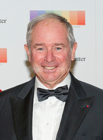 Stephen A. Schwarzman, Chairman and CEO of the Blackstone Group arrives for the formal Artist's Dinner honoring the recipients of the 38th Annual Kennedy Center Honors hosted by United States Secretary of State John F. Kerry at the U.S. Department of State in Washington, D.C. on Saturday, December 5, 2015. The 2015 honorees are: singer-songwriter Carole King, filmmaker George Lucas, actress and singer Rita Moreno, conductor Seiji Ozawa, and actress and Broadway star Cicely Tyson.<br /> Credit: Ron Sachs / Pool via CNP/MediaPunch