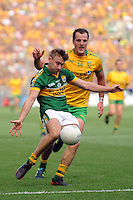 James O'Donoghue with the ball in the All-Ireland Football Final against Donegal in Croke Park 2014.<br /> Photo: Don MacMonagle<br /> <br /> <br /> Photo: Don MacMonagle <br /> e: info@macmonagle.com