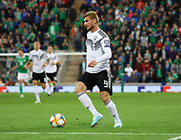 Timo Werner (Deutschland Germany) - 09.09.2019: Nordirland vs. Deutschland, Windsor Park Belfast, EM-Qualifikation DISCLAIMER: DFB regulations prohibit any use of photographs as image sequences and/or quasi-video.