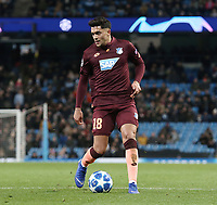 1899 Hoffenheim's Nadiem Amiri<br /> <br /> Photographer Rich Linley/CameraSport<br /> <br /> UEFA Champions League Group F - Manchester City v TSG 1899 Hoffenheim - Wednesday 12th December 2018 - The Etihad - Manchester<br />  <br /> World Copyright © 2018 CameraSport. All rights reserved. 43 Linden Ave. Countesthorpe. Leicester. England. LE8 5PG - Tel: +44 (0) 116 277 4147 - admin@camerasport.com - www.camerasport.com