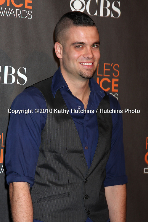 Mark Salling.arriving  at the 2010 People's Choice Awards.Nokia Theater.January 6, 2010.©2010 Kathy Hutchins / Hutchins Photo.