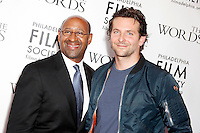 Bradley Cooper pictured with Mayor Michael Nutter at the premiere for his new film, The Words at The Prince Theater in Philadelphia, Pa on August 27, 2012  ***HOUSE COVERAGE***  &copy; Star Shooter / MediaPunchInc /NortePhoto.com<br />