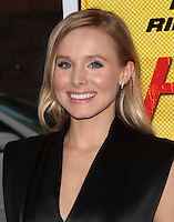 LOS ANGELES, CA - AUGUST 14: Kristen Bell arrives at the 'Hit &amp; Run' Los Angeles Premiere on August 14, 2012 in Los Angeles, California MPI21 / Mediapunchinc /NortePhoto.com<br />